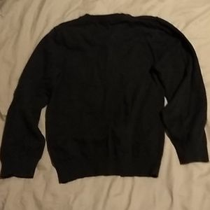 H&M Shirts & Tops - H&M charcoal gray v-neck sweater